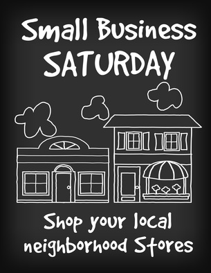 Will you be supporting Small Business Saturday?