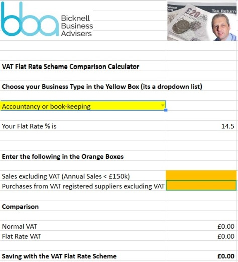Flat Rate Calculator 2