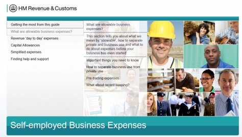 HMRC expenses